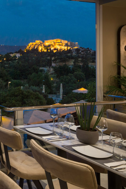 athens rooftop restaurant